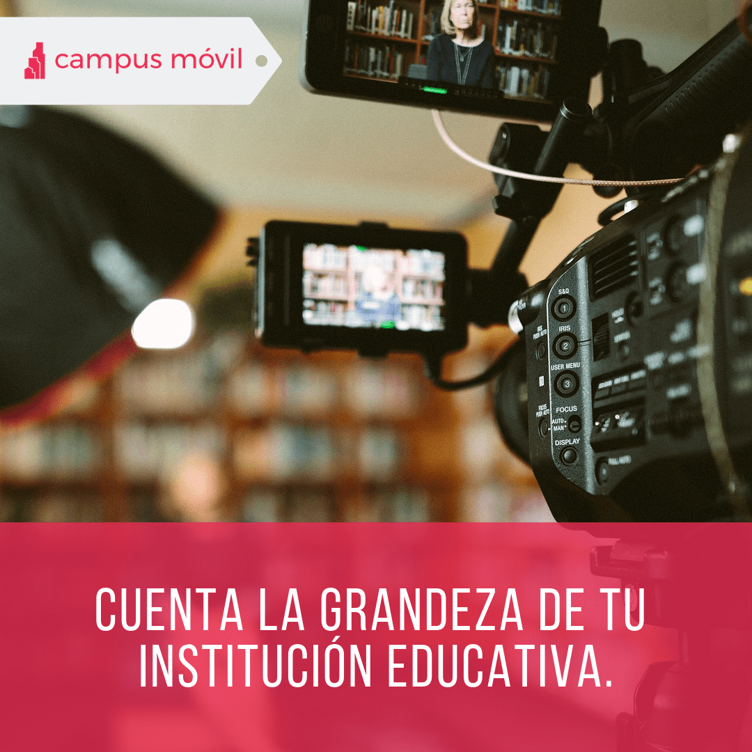 El video beneficia a tu Institución Educativa