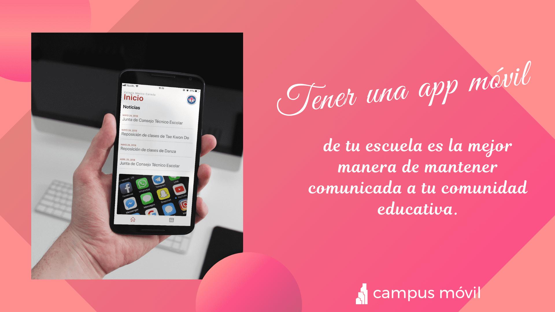 ¿Por qué una institución educativa necesita una App móvil?